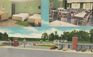 BURNSIDE , Kentucky, 1930-40s ; 7 Gables Motel & Restaurant