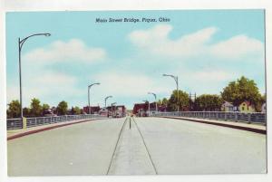 P991 1961 view main st bridge, piqua ohio