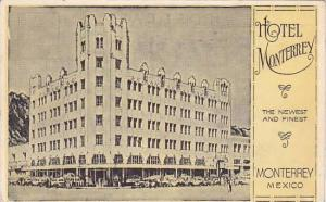 Hotel Monterrey (Exterior), Monterrey, Mexico, 1900-1910s