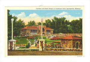 Pavilion and Bath House at Fassnight Park, Springfield, Missouri, 30-40s