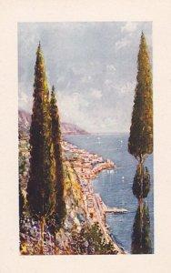 Panorama of Amalfi, Salerno, Campania, Italy, 1910-20s