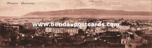 italy, MESSINA, Sicily, Double Panorama 2x Postcard (1910s)