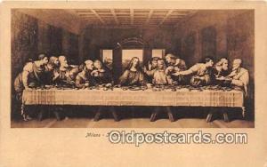 Religion Postcard Il Cenacola di Leonardo Da Vinci Milano