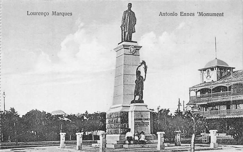 Mozambique Mozambic Maputo, Lourenco Marques, Antonio Ennes Monument, Statue