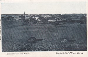 Keetmanshoop von Westen , Deutsch-Sud-West-Afrika , 00-10s