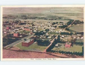 W-Border AERIAL VIEW Cody Wyoming WY A5544