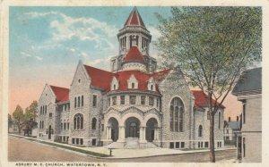 WATERTOWN, New York, 00-10s; Asbury M.E. Church