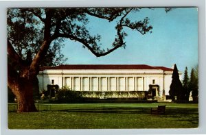 San Marino CA, Huntington Library, Union Oil Company, Chrome California Postcard