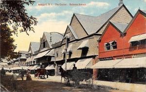 Newport Rhode Island~The Casino~Bellevue Avenue~1910 Postcard