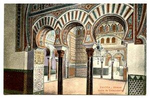 Spain - Sevilla. Alcazar, Salon of Embassadors