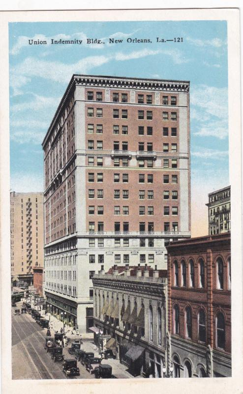 NEW ORLEANS, Louisiana, 1910s-20s; Union Indemnity Bldg.