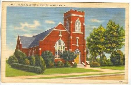 Kimball Memorial Lutheran Church, Kannapolis, North Carolina,30-40s