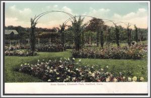 Connecticut Hartford Elizabeth Park Postcard