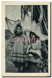 Old Postcard Polar Grand Prix de Rome In Alaska Eskimos
