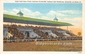 Dade Park Race Track Henderson, KY , USA Horse Racing Unused