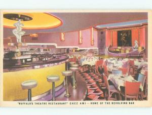 Linen Like CHEZ AMI RESTAURANT Buffalo New York NY W6638-12