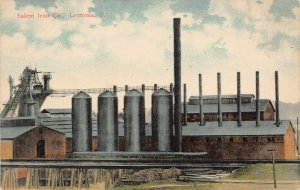 LPS01 LEETONIA Ohio Salem Iron Company Postcard