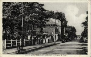 CPA FRANCEVILLE-Plage - Avenue de Paris (140968)