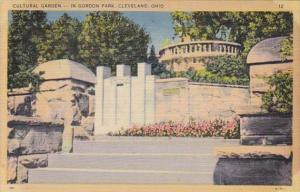 Ohio Cleveland Cultural Garden In Gordon Park