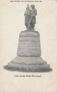 LAKE GEORGE , New York , PMC 1898 ; Battle Monument