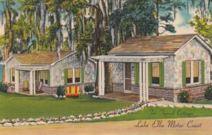 TALLAHASSEE, Florida, 1930-40s; Two Typical Cottages, Lake Ella Motor Court
