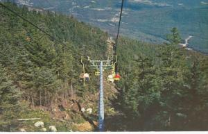 Double Chair Lift Ride at Whiteface Mt, Adirondacks, New York, 1963