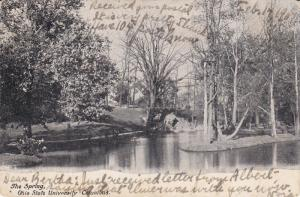 The Spring, Ohio State University, COLUMBUS, Ohio, PU-1907