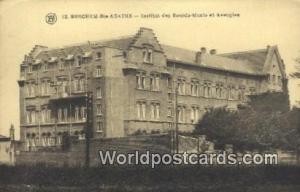 Berchem-Ste-Agathe, Belgium, België, la Belgique, Belgien Institut des Sourd...
