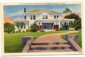 An Attractive Beach Drive Residence, Panama City, Florida, 1930-1940s