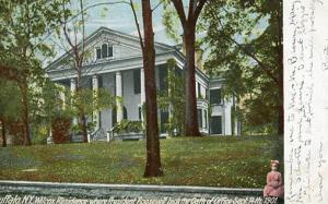 NY - Buffalo. Wilcox Residence where President Roosevelt took oath of office ...