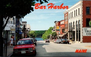 Maine Bar Harbor Main Street