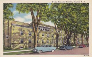 New York Dunkirk Brooks Memorial Hospital Curteich