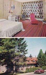 MONTREAL, Quebec, Canada, 1940s to Present; Hotel La Sapiniere