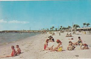 Bahia Beach, Bahia Vista Restaurant and Bahia Beach Motel, Ruskin, Florida, U...