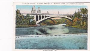 WILMINGTON, Delaware, 1915-30; Washington St Memorial Bridge