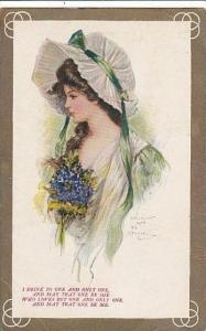 Archie Gunn Beautiful Lady With Hat