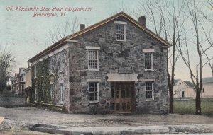 BENNINGTON , Vermont , 1907 ; Blacksmith Shop