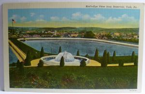 Old Postcard Airview York, PA