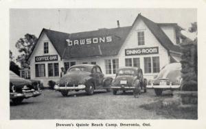 DESERONTO, Ontario , Canada , 1930s; Dawson Quinte Beach Camp