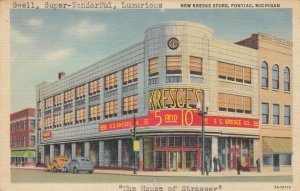 PONTIAC , Michigan, 1933 ; New Kresge Store