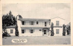 11622  GA Kingsland  1950's  Modern Residence