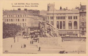 LE HAVRE, Place Gambetta, Monument aux Morts 1914-1918, Seine Maritime, Franc...