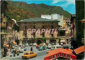 Postcard Modern Valls d'Andorra Place Co Prince Dr Benlloch