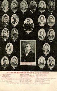 UT - Salt Lake City. Brigham Young's Wives
