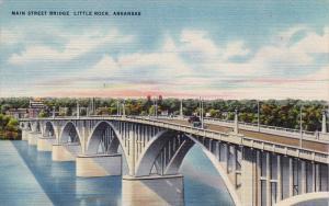 The Main Street Bridge,  Little Rock,  Arkansas,   30-40s