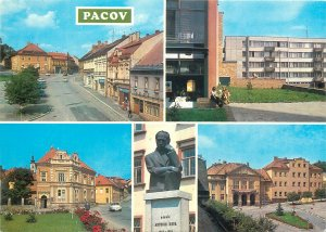 Postcard Europe Czech Republic Pacov region multiview