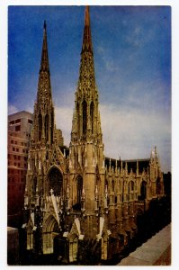 Postcard St. Patrick's Cathedral New York City New York Standard View Card