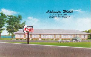 Lakeview Motel Crosby Minnesota