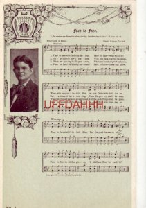 pre-1907 FACE TO FACE - Words: Mrs Frank A Breck Music: Grant Colfax Tullar