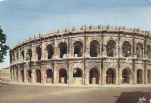 France Nimes Les Arenes Romaines